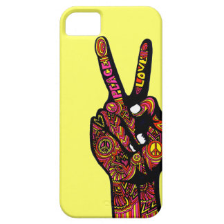 Peace Sign Hand Case For The iPhone 5