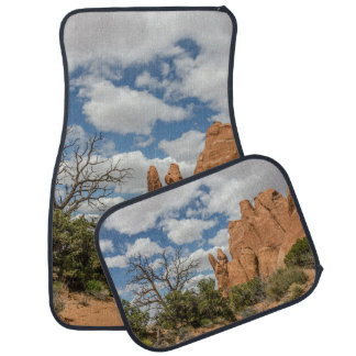 Peace Sign in Arches National Park Car Mat