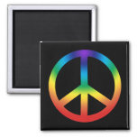 Peace Sign in Chakra Colours