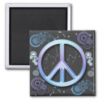 Peace Sign Refrigerator Magnet