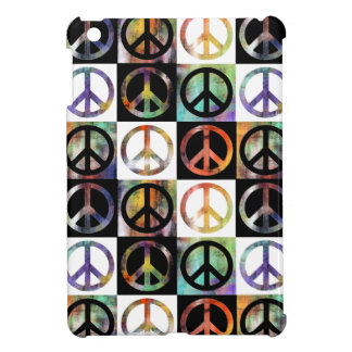 Peace Sign Mosaic iPad Mini Covers