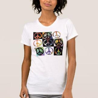 Peace Sign Mosaic T-shirt