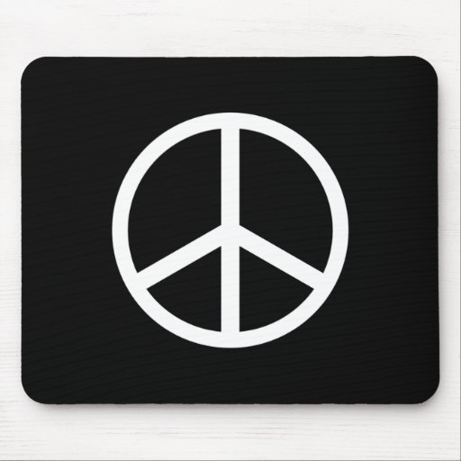 Peace Sign Mouse Pads