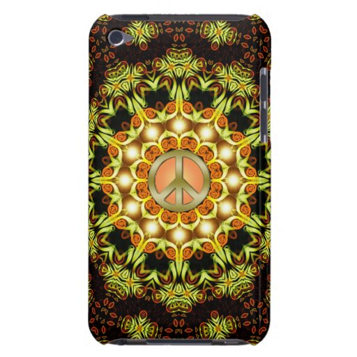Peace Sign Nature Energy iPod Touch Case