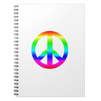Peace Sign Notebooks