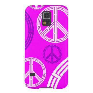 Peace sign pattern galaxy s5 case