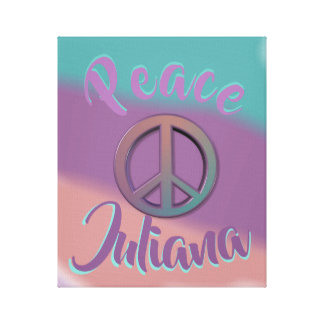 Peace Sign Personalized