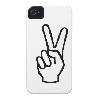 peace sign phone case blackberry case