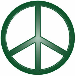 Peace Sign Photo Sculpture Decoration