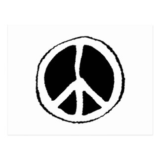 Peace Sign Postcard