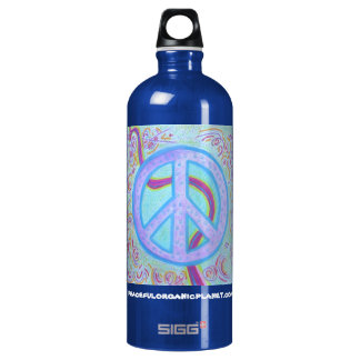 PEACE SIGN SIGG TRAVELLER 1.0L WATER BOTTLE