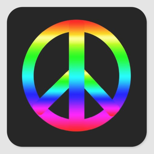 Peace Sign Stickers