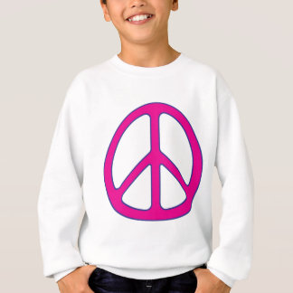 peace sign sweatshirt