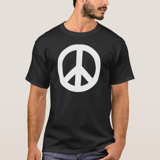 Peace Sign White T-Shirt