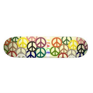peace_signs_all_solid, peace_signs_all_solid, P... 20 Cm Skateboard Deck