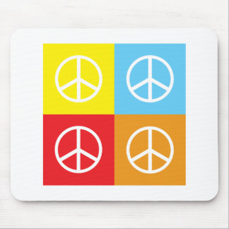 Peace Signs Mouse Pads
