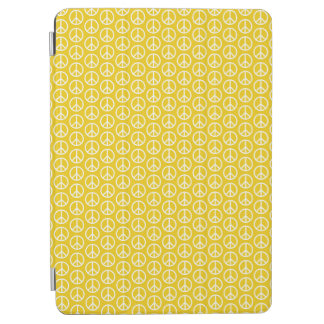 Peace Signs on Sunny Yellow iPad Air Cover