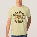 Peace Smores Not Wars T-shirts