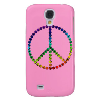 Peace Soccer Galaxy S4 Case