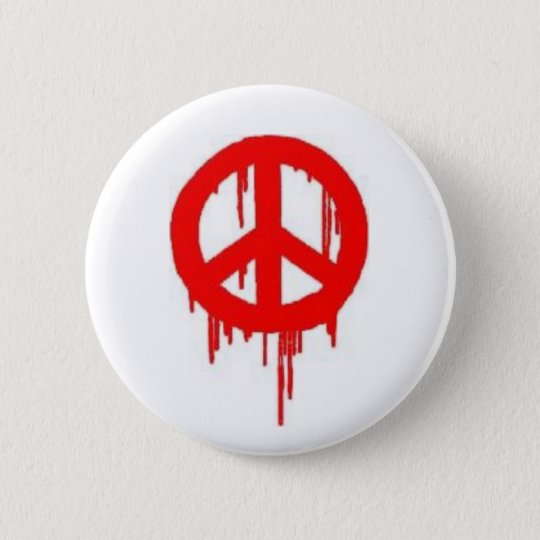 Peace SPraypaint Button
