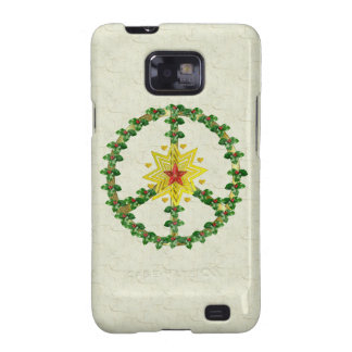 Peace Star Christmas Galaxy SII Case