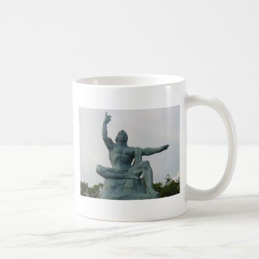 Peace Statue Basic White Mug