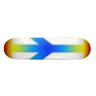 peace stretch skate board deck