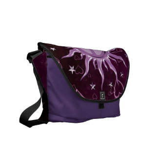 Peace Sun Aries Courier Bags