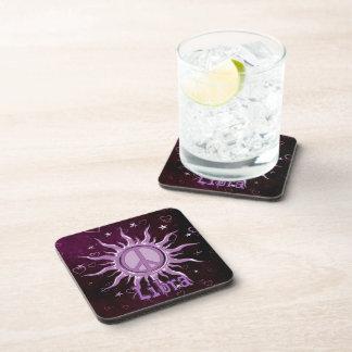 Peace Sun Libra Drink Coasters