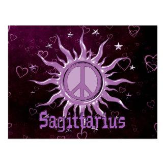 Peace Sun Sagittarius Postcard