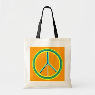 Peace Symbol Bags