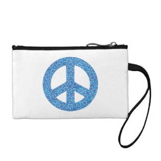Peace Symbol Change Purses