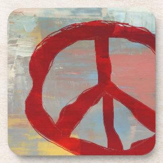 Peace Symbol Coasters