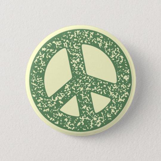 Peace Symbol -dist-stamp 6 Cm Round Badge