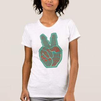 Peace Symbol Hand Tshirts