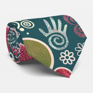Peace Symbol Hippy Tie