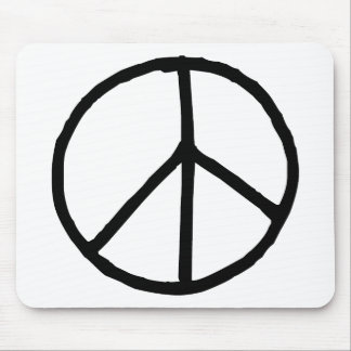 Peace Symbol Mouse Mat