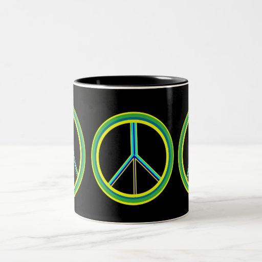 Peace Symbol Coffee Mugs