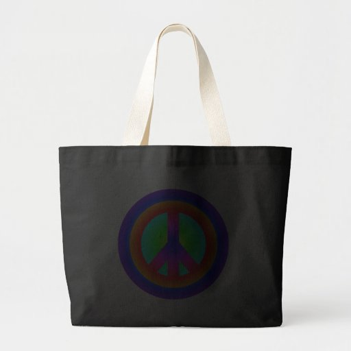 Peace symbol peace symbol canvas bag