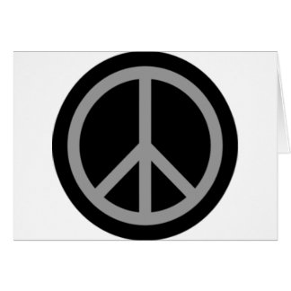 Peace Symbol Products & Designs! Greeting Card