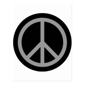 Peace Symbol Products & Designs! Postcard