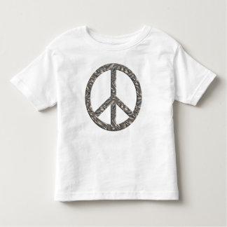 PEACE symbol  - SILVER T Shirt
