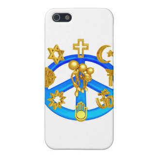 Peace Symbol Uniting All World Religions iPhone 5 Cover