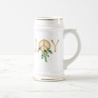 Peace Symbol with olive branch Coffee Mug