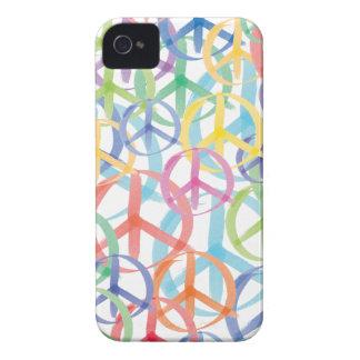 Peace Symbols Art Case-Mate iPhone 4 Cases