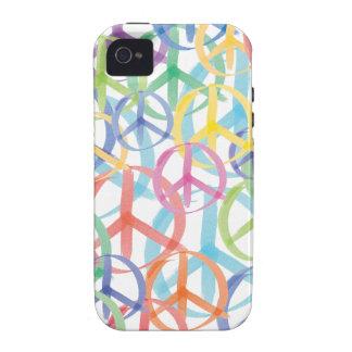 Peace Symbols Art iPhone 4 Cases