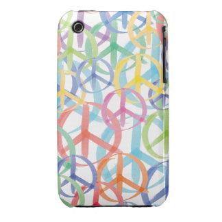 Peace Symbols Art iPhone 3 Case-Mate Case
