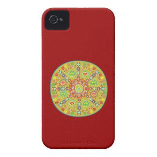Peace Symbols Design Case-Mate iPhone 4 Case