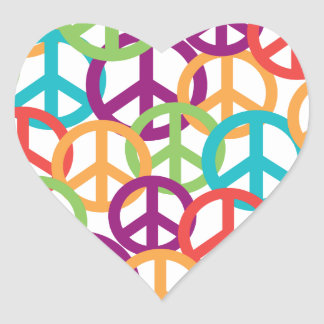 Peace Symbols Stickers