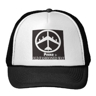 Peace the Old Fashioned Way Hats
